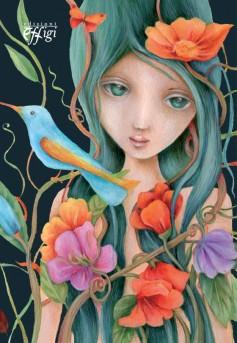Quaderno illustrato da Cinzia Bardelli Natura