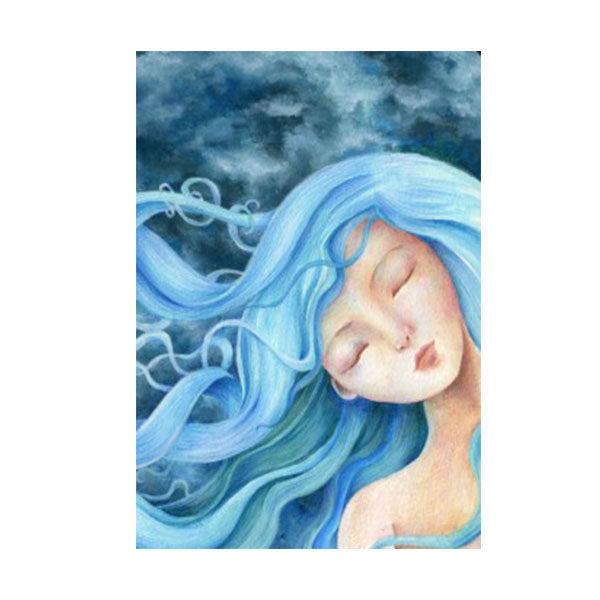 Quaderno illustrato da Cinzia Bardelli la luna addormentata