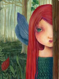 Quaderno illustrato da Cinzia Bardelli la fata dei segreti
