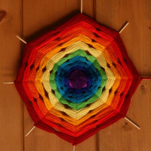Mandala arcobaleno