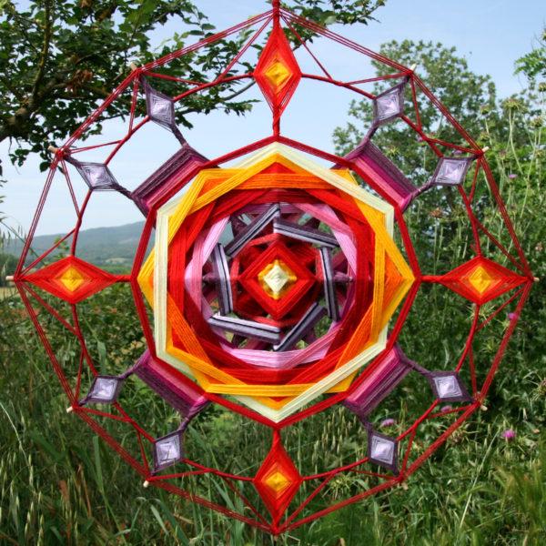 Mandala rosso